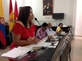 Zoila Rosa �ngulo respondi� al Concejo Municipal de Yopal por su gesti�n frente al IDRY