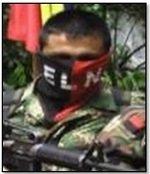 Autoridades ofrecen millonaria recompensa por guerrillero del ELN alias Arley o Coco