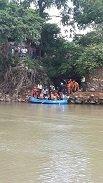 Buscan persona desaparecida en la zona de emergencia del r�o Charte