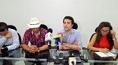 Viceministro de Infraestructura y Gobernador presentaron alternativas para el paso en el Charte
