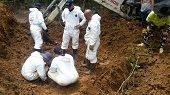 Hallados restos óseos de una mujer en Tauramena