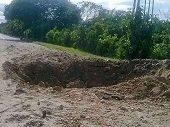 ELN activó explosivos en la vía Saravena - Arauca