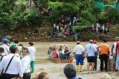 Imprudencia de pasajeros generó incidente sin consecuencias ayer en el río Charte