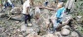 Comisión de Fuerza Aérea Colombiana verifica afectaciones a comunidad indígena UWA por bombardeo
