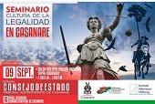 Consejo de Estado presenta hoy programa de cultura de legalidad y seguridad jurídica