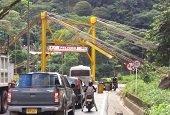 Policía de tránsito le recordó a Invías que es su deber proteger puente La Cabuya