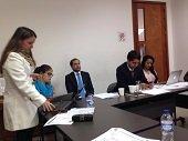 7 de octubre mesa de trabajo con el Ministerio de Educación en Yopal