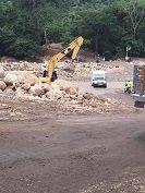 Habilitado paso para vehículos de transporte de pasajeros en el río Charte