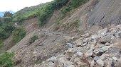 Hoy inicia traslado de maquinaria para atender deslizamiento en La Salina