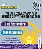 Comfacasanare abrió tercera convocatoria para subsidio de vivienda del año 2016