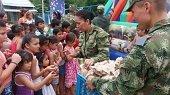 Jornada de apoyo social realiza Brigada XVI este sábado en la Comuna V de Yopal