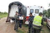 Ayudas humanitarias para damnificados en el centro poblado de Morichal