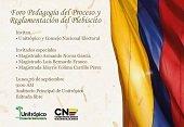 Consejo Nacional Electoral hace pedagogía del Plebiscito por la Paz hoy en Unitrópico