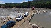 Covioriente entregó balance de construcción de pasos alternos sobre el río Charte