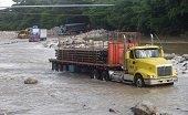 Corporinoquia reiteró prohibición de paso de vehículos petroleros por el río Charte