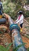Continúa interrumpido el servicio de agua por red en el municipio de Aguazul