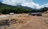 Cruce de hidrocarburos y sustancias peligrosas por el río Charte sujeto a planes de contingencia