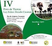 Foro de Tierras Ley Zidres en Paz de Ariporo este sábado 22 de octubre
