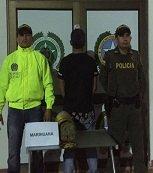 Policía halló 4 mil gramos de marihuana escondidos en un extintor en Paz de Ariporo