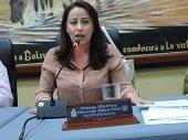 Diputada Sonia Bernal entregó balance de su gestión en la Presidencia de la Asamblea