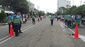 12 motos y 2 carros fueron inmovilizados ayer durante controles al Tránsito en Yopal