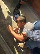Comunidad capturó a delincuente que atracó a menor de edad en Aguazul