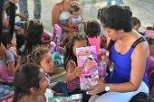 Maratón de regalos y sonrisas para los niños casanareños