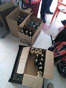 Policía incautó licor de contrabando el fin de semana. Balance operativo