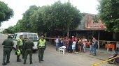 Ladrón resultó herido en intento de asalto a un restaurante de Yopal