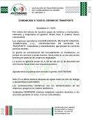 Transportadores de El Morro se declaran en operación tortuga por incumplimientos de compañías