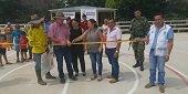 Unidad para las Víctimas entregó escenario deportivo en Paz de Ariporo