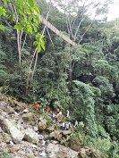 Colapso de puente colgante en zona rural de Villavicencio dejó once muertos y 13 heridos