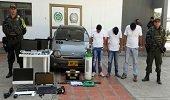 Capturados en Paz de Ariporo ladrones que trasportaban elementos hurtados en Tame
