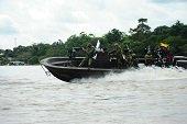 Puesto fluvial de la Armada Nacional en Orocué