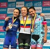 Lorena Vargas regresó con medalla en campeonato nacional de ruta