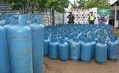 Incautaciones de cilindros de gas y madera reportó la Octava División del Ejército