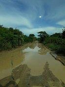 Suspenderán rutas hacia Bocas del Pauto por pésimo estado de la vía
