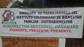 En paro indefinido trabajadores del ICBF en Casanare