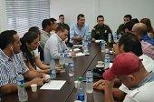 Autoridades evaluaron frente común contra el delito en Casanare y Yopal