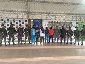 Capturados cinco integrantes del ELN en Arauca
