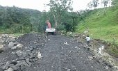 Recuperadas vías rurales en Chámeza