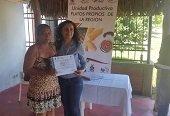 Con recursos de OCAD Acción Social certificó en platos típicos a familias de Maní