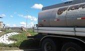 Gestión del riesgo sigue suministrando agua por carrotanques a cárcel de Yopal