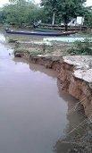 Corregimiento La Hermosa en riesgo por creciente del río Meta
