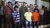 En Sácama autoridades lograron la liberación de siete personas retenidas por el ELN