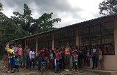 En la vereda El Palmar estrenan aula escolar remodelada por Equión