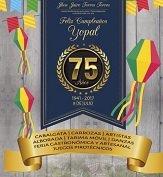 Programación en homenaje a los 75 años de Yopal este sábado