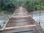 Puentes a punto de colapsar en Recetor
