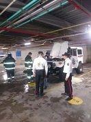 Alarma en el parqueadero de Unicentro Yopal por conato de incendio