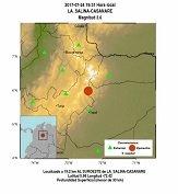 Sismo de pequeña intensidad tuvo como epicentro a La Salina